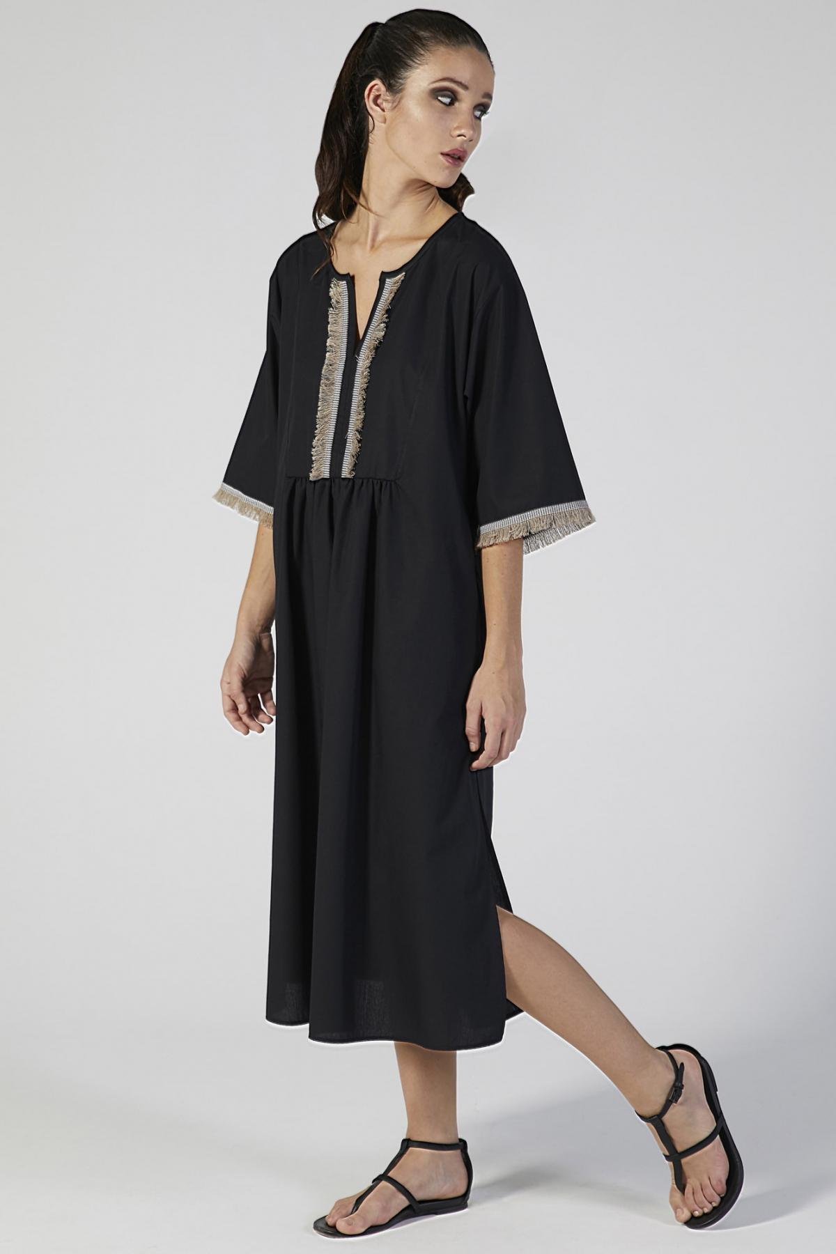 kaftano copricostume manica corta verdiani donna loungewear