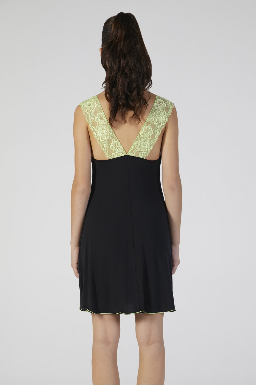 loungewear nero donna manica corta