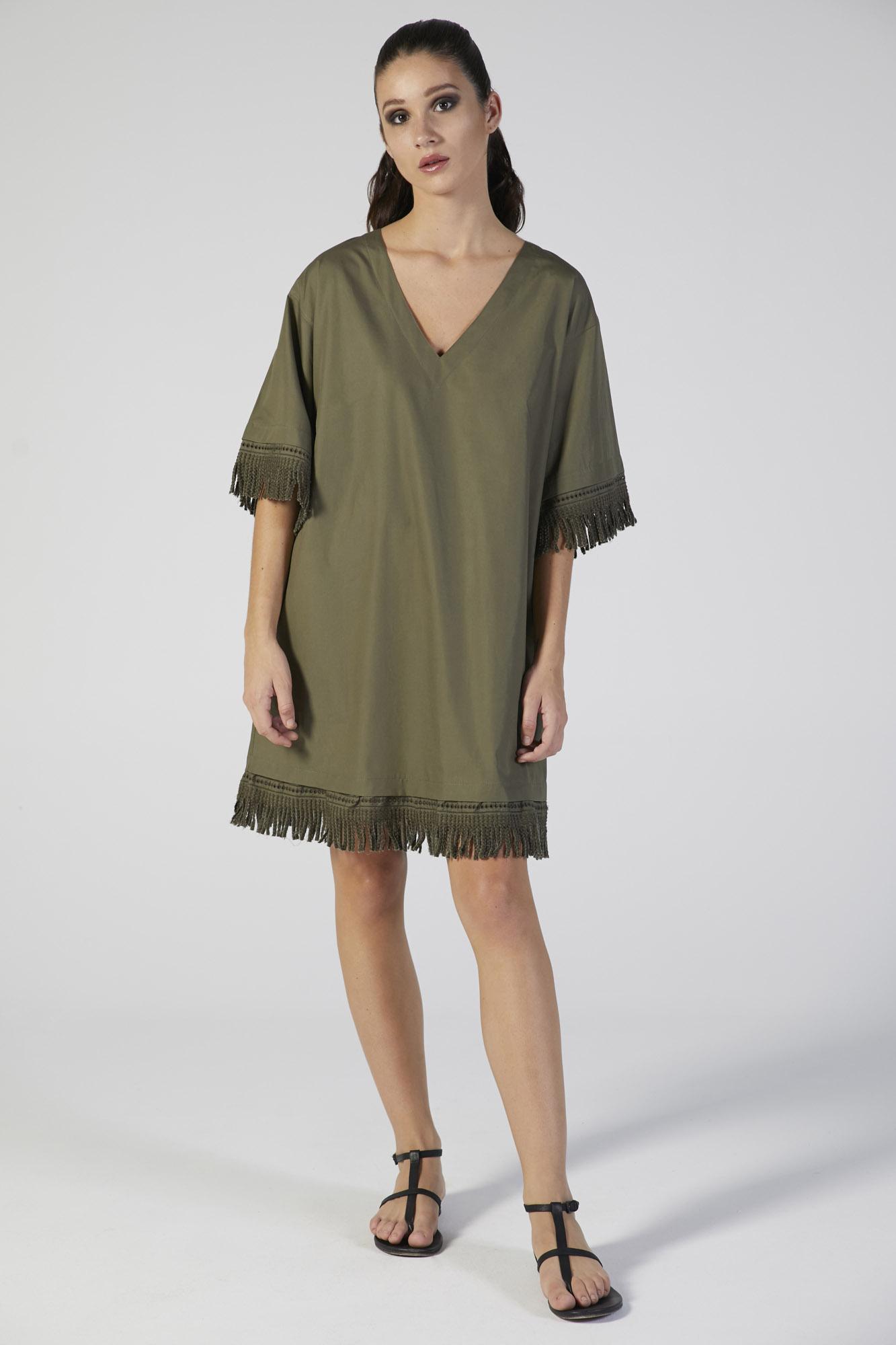 abito copricostume manica corta verdiani donna loungewear